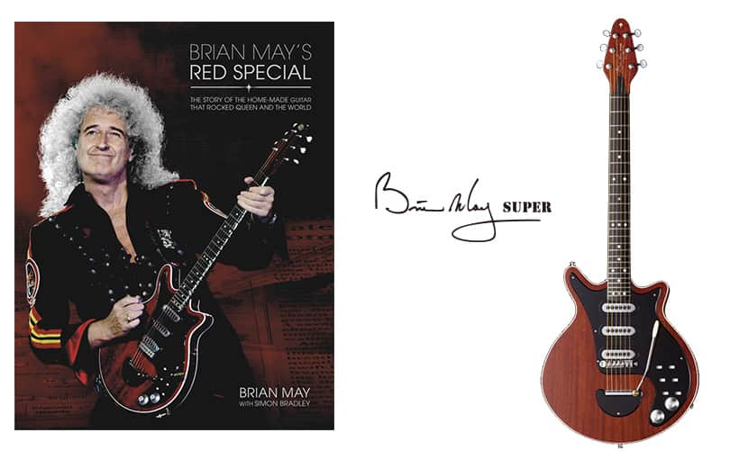 RED SPECIAL - Brian May Super - made by Kz Guitar Works
